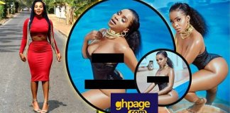 Photos: Zylofon Actress Benedicta Gafah Breaks The Internet With Hot Semi-N*de Photos
