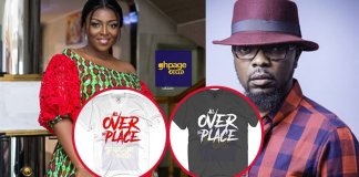 """KOD Releases """"All Over The Place"""" Designer T-Shrit To Mock Yvonne Okoro(Photos)"""