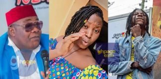 """Screenshot: Stonebwoy's Younger Sister 'Slaps' Willi Roi For Calling His Brother An """"Ewe Eagle"""""""