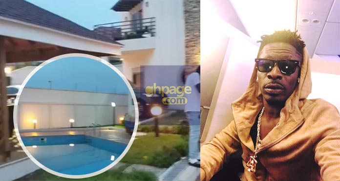 Inside And Aerial View Of Shatta Wale's Multi-Million Dollar Mansion Puts On Display