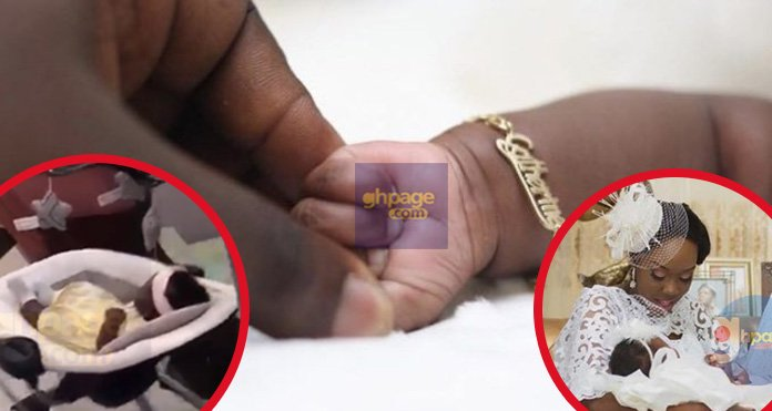 Video: Watch Stonebwoy's Daughter, Jidula As She Chills In Her Swinging Baby's Cot