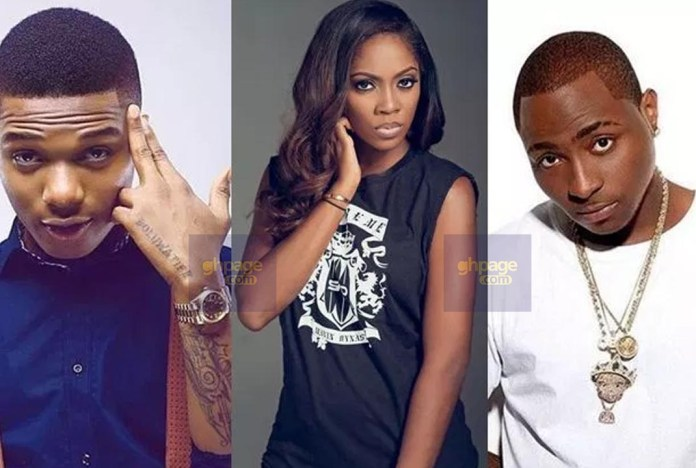 Davido Trolls Wizkid On Social Media Over Tiwa Savage