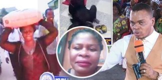Woman Who Was Punished By Obinim To Carry Cement Speaks