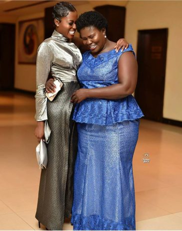 Image result for fella makafui and mother
