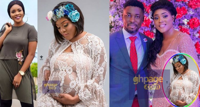 Confirmed: Kwame A Plus' wife, Akosua Vee gives birth [Photos+Details]