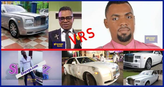 Asanteman Bofour also shows off his new Rolls-Royce ghost and other collection of cars to challenge Obinim