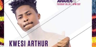 Rapper Kwesi Arthur Has Been Nominated For BET Awards 2018