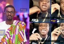 Sumsum Ahuofedua claims Nana Appiah Mensah has given him a Menzgold Chain (Video)