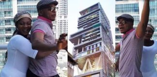 Angel Obinim enjoys vacation in Dubai with his wife Florence Obinim-shows off property