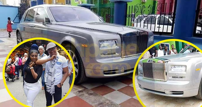 Video+Photos: Obinim adds to his list of cars a brand new Rolls Royce worth Ghc 1.4million