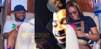 Video: Romantic video of Davido and Chioma 'chopping' love in his studio pops up online