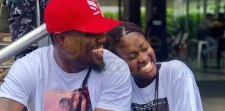 Fella Makafui hangs out with Too Sweet Annan