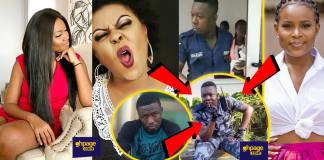 Ghanaian celebrities reacted policeman beat woman baby