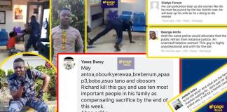 Ghanaians react to the assault of woman at a bank by police officer