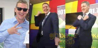 Video: British High Commissioner to Ghana sets social media ablaze with his 'Shaku Shaku' dance