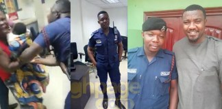 John Dumelo reacts to rumours that he's a friend of the Policemen who assaulted a nursing mother after a photo them went viral