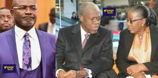 Kennedy Agyapong supports Mrs Amissah Arthur for her tribute outburst