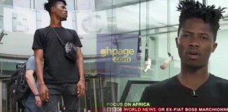Video: Kwesi Arthur feature on BBC Focus Africa, tells his struggles in life