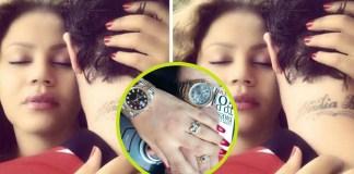 Nadia Buari and husband flaunt jewelries on social media