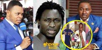 Karma: Angel Obinim's boy blast Despite Group for calling Evangelist Addai mad