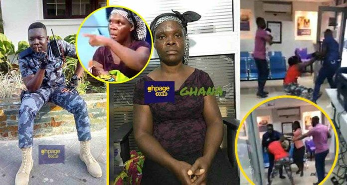 Patience, the woman who was assaulted by the Police Officer speaks