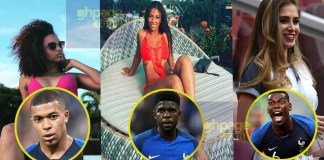 Here are the pretty photos of girlfriends/wives of 2018 World Cup winners