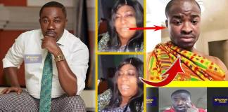Osei Kwame Despite's Sister Blasts Evang. Addai and has given him a strong warnings for defaming his brother
