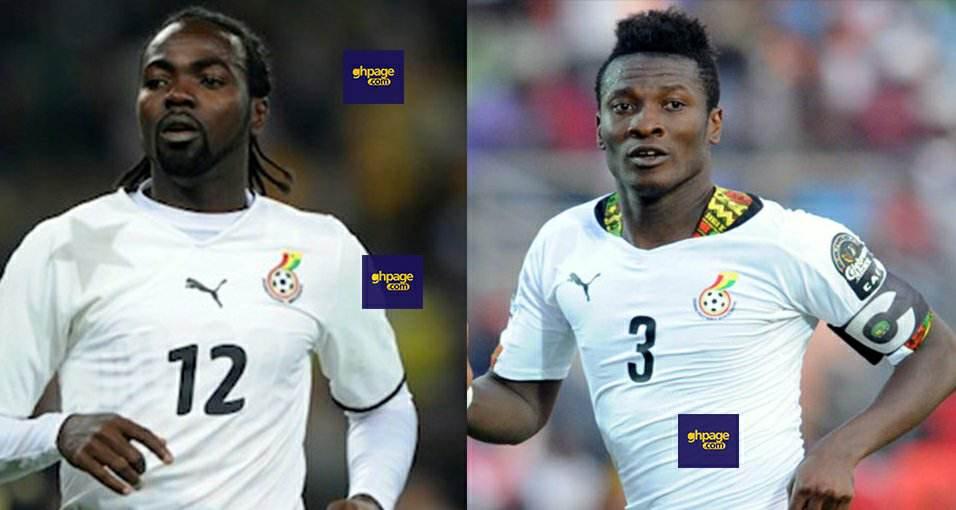 Asamoah Gyan and Prince Tagoe Battlë Off on Radio Over Captaincy