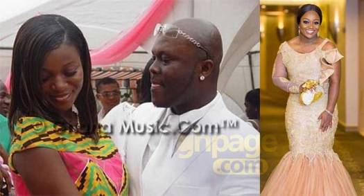 Photo of Jackie Appiah with her ex-husband on their wedding day pops up on the internet