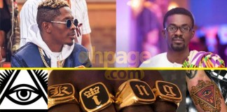 Shatta Wale opens up on Nana Appiah Mensah's Illuminati confession