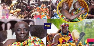 Video: The rich cultural display when Otumfour finally met Okyenhene at Kyebi in over many years