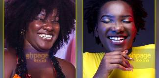 Ebony sister shows off her rap skills