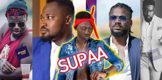 Sarkodie,Samini,Funny Face others in the Supa Ghana 2pac 'Challenge'