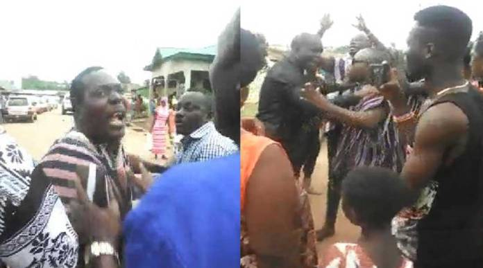 Deputy minister nearly beaten narrates what actually happened