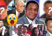 Is Sam Korankye Ankrah accusing Owusu Bempah of killing Amissah Arthur with his evil tongue?