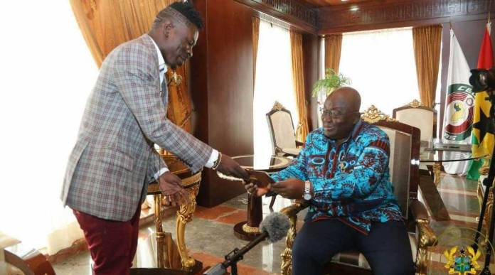 Shatta Wale plans to release song for Akuffo Addo titled