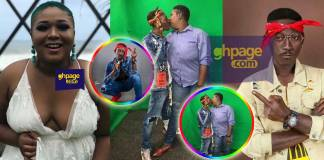 A photo of actress Xandy Kamel kissing toothless Supa goes viral