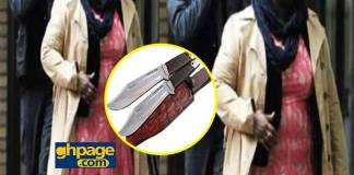 Ghanaian couple based found knife in their son's bag and their reaction