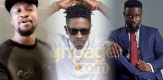 Video: Archipalago mocks Shatta Wale after Sarkodie's diss song to Shatta Wale popped up online