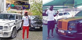 Rolls Royce,Range to Benz;Take a look inside the luxurious cars owned by Emmanuel Adebayor