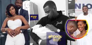 John Dumelo's wife gives birth to a baby boy