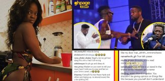 Sarkodie fans diss Bigail for defending Shatta Wale
