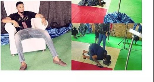 Pastor makes members lick his shoes to receive miracle money