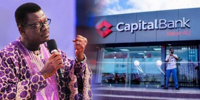 Pastor Mensa Otabil reacts after being sued over capital Bank's collapse