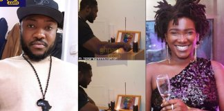 Ebony's biggest fan holds a candlelight vigil to commemorate her on X'mas Eve
