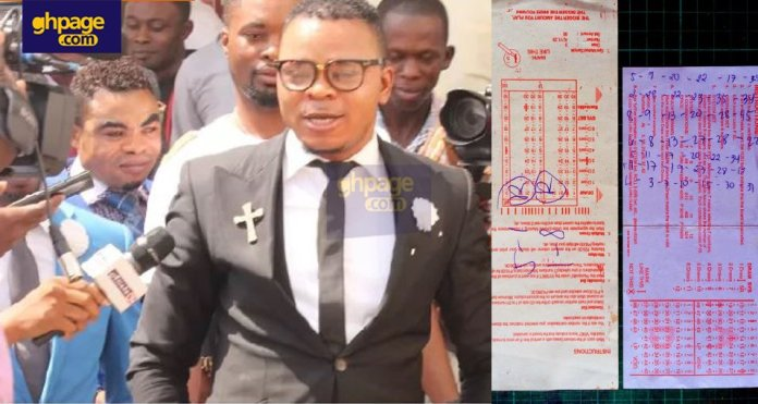 Bishop Obinim dares his critics to bring biblical evidence that lotto is a sin