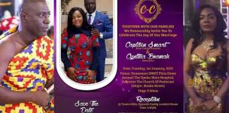 Captain Smart set to wed new USA girlfriend on 1st Jan 2019