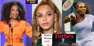 Oprah Winfrey tops Forbes 2018 most powerful women in the world; Here's the full list