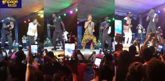 Kuami Eugene lights up Kumasi Sports Stadium on Saturday with his Rockstar Concert