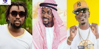 You claim richest artist but can't save NAM1-David Oscar trolls Shatta Wale